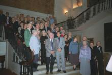 LALG Guests on Grand Staircase