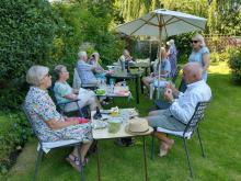 Wine Appreciation Group Garden Party