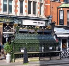 ex Victorian loo, now a (very) small cafe