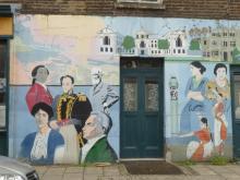 Fitzrovia Neighbourhood Association mural