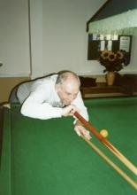 Snooker Player - Reg Harris